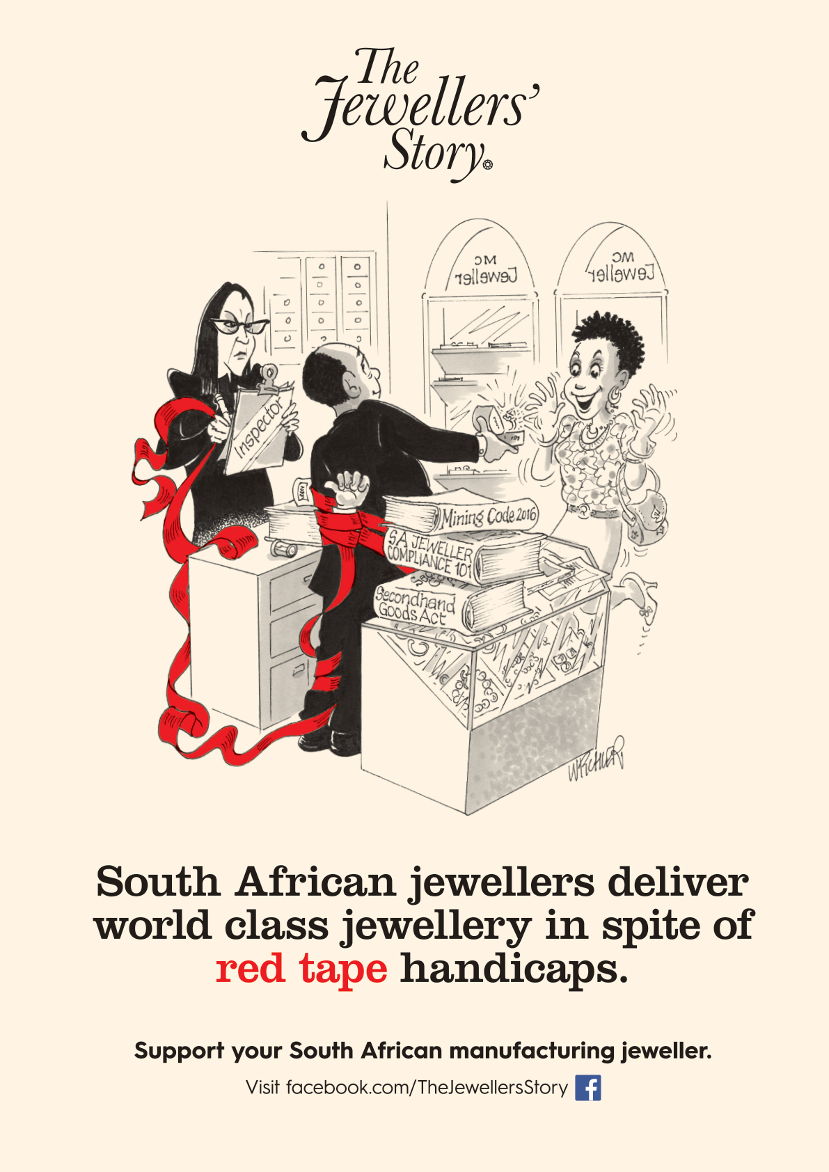 Delivering world class jewellery in spite of red  tape handicaps