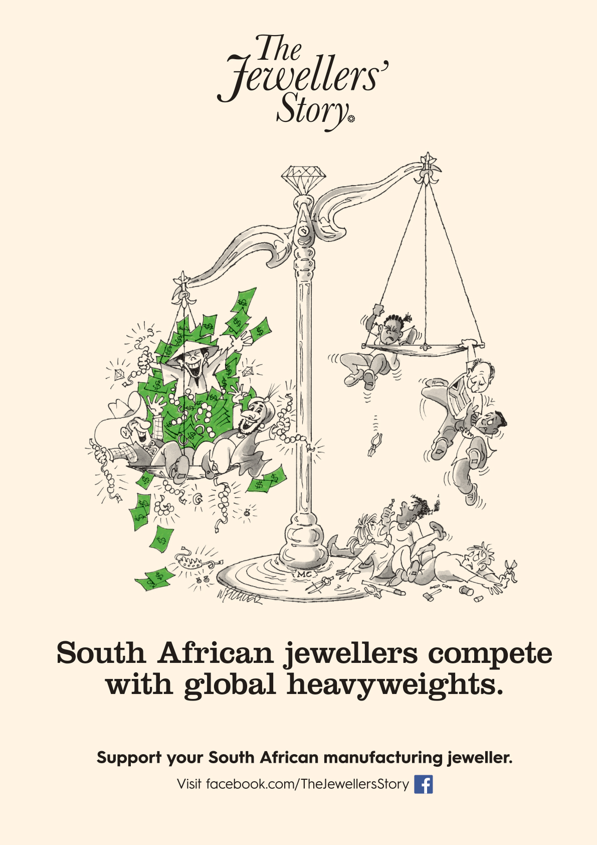 South African jewellers compete with global heavyweights