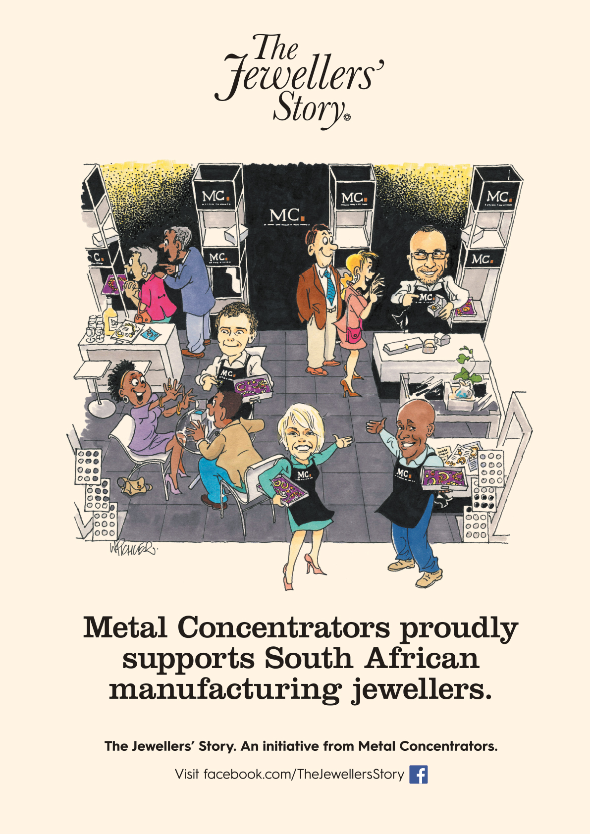 Metal Concentrators proudly supports South African manufacturing jewellers