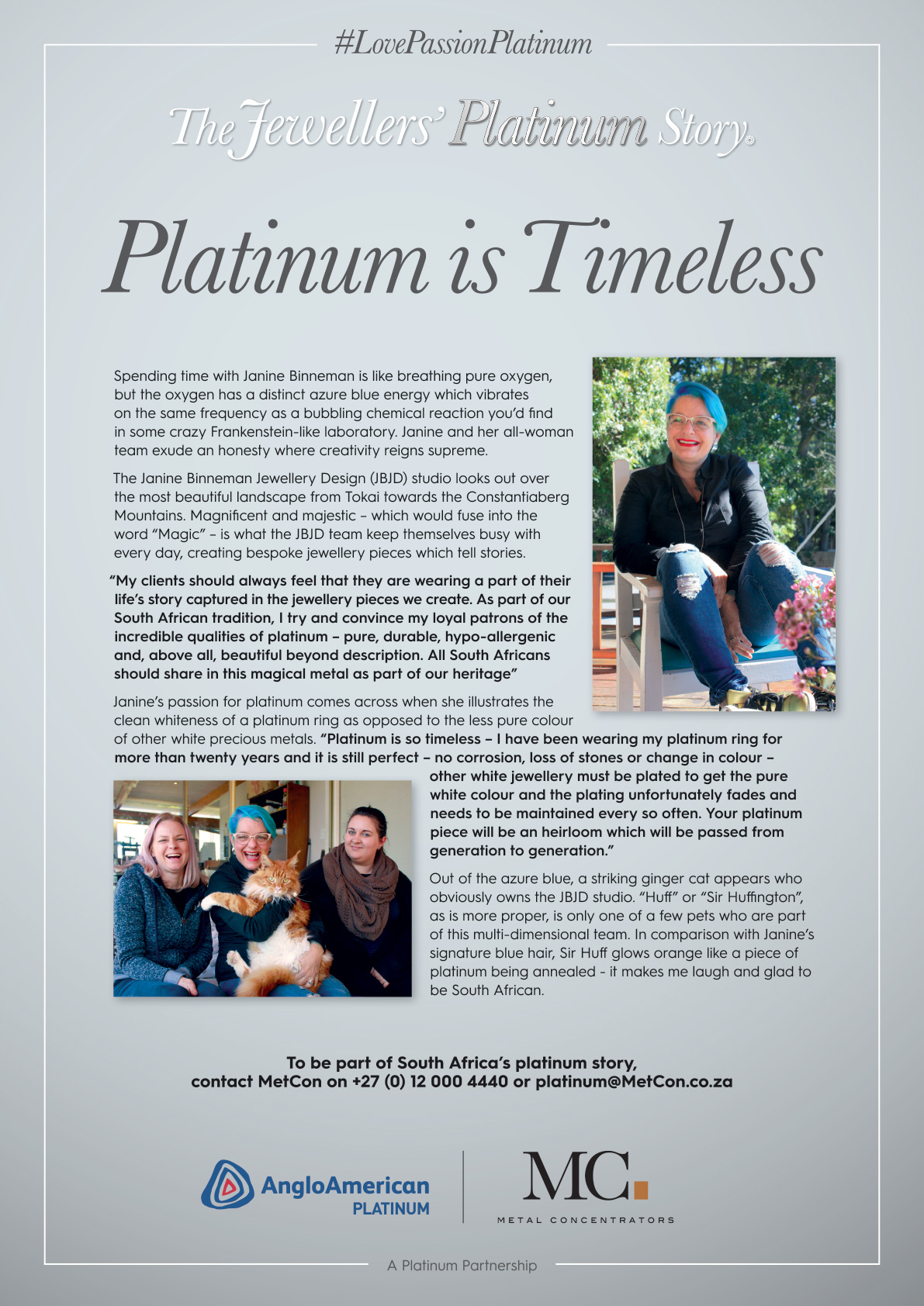 Platinum is Timeless